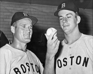 Carroll Hardy of the Boston Red Sox becomes the only player to pinch-hit for both Ted Williams and Carl Yastrzemski