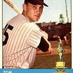 Tom Tresh, the Yankees shortstop and left fielder, is selected as the American League's Rookie of the Year by the BBWAA