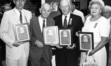 John Clarkson, Elmer Flick, Sam Rice and Eppa Rixey are elected to the Hall of Fame