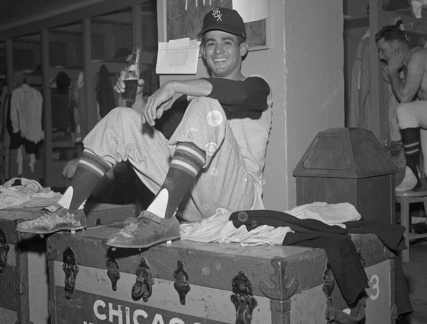 Hoyt Wilhelm and Luis Aparicio headline 7 player trade between Orioles and White Sox