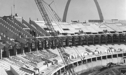 Ground is broken for a new park for theSt. Louis Cardinals. The stadium is expected to be ready in time for the1966season.