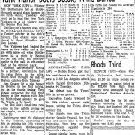 Mel Stottlemyre of the New York Yankees becomes the first pitcher in 55 years to hit an inside-the-park grand slam