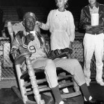 Another Kansas City publicity stunt makes the great Satchel Paige baseball's oldest performer. At 59, Paige hurls the first three innings, garners one strikeout, and allows just one hit, to Carl Yastrzemski, in his first major league appearance since 1953. The Red Sox then jump on reliever Don Mossi for a 5 - 2 win.
