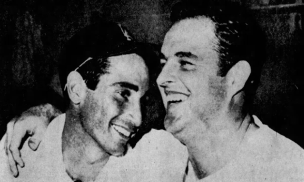 Los Angeles clinches the National League pennant on the next to last day of the season at Dodger Stadium when Sandy Koufax gets his 26th victory
