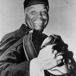 Emmett Ashford umpires his first MLB game April 11 1965