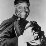 Emmett Ashford umpires his first MLB game April 11 1965