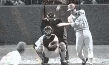 "Tony Perez hits a 15th inning home run against Jim ""Catfish"" Hunter in All Star Game"