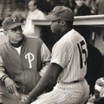 The Phillies fire manager Gene Mauch and replace him with Bob Skinner, skipper of the team's farm club in San Diego. 'The Little General', who is best remembered for being at the helm during the club's infamous collapse in 1964, compiled a 646-684 (.486) record during his 8+year tenure with Philadelphia.