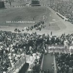 Montreal Expos host their first game north of the border