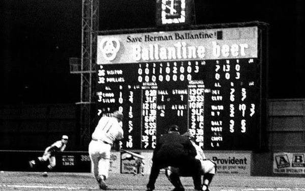 Bill Stoneman of the Montreal Expos pitches a 7 – 0 no-hitter against the Philadelphia Phillies in only the ninth game of the Expos' existence