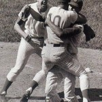 At Wrigley Field, Ken Holtzman no-hits the Braves, 3-0, with Ron Santo's first inning homer off Phil Niekro providing all of the Cubs' runs. The no-hitter is the fifth of the season, and the first since 1923 in which no strikeouts are recorded, when Sad Sam Jones accomplished the feat with the Yankees.