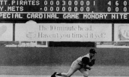 1969 – Bob Moose of the Pittsburgh Pirates pitches a 4 – 0 no-hitter against the New York Mets at Shea Stadium.