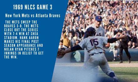 Full Radio Broadcast Game 3 of NLCS New York Mets 7 Atlanta Braves 4 October 6 1969