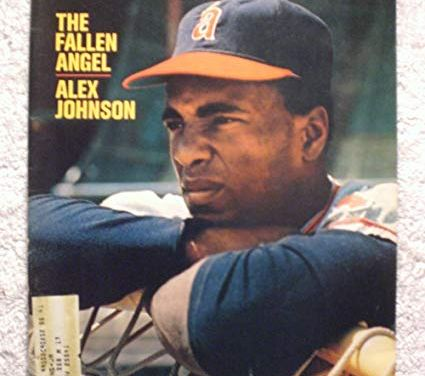 California Angels suspend defending batting champion Alex Johnson