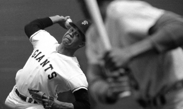 At San Francisco's Candlestick Park, Juan Marichal records his 50th career shutout as the Giants blank the Expos, 1-0.