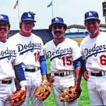 TheLos Angeles DodgersinfieldofSteve Garvey(1B),Davey Lopes(2B),Ron Cey(3B) andBill Russell(SS) plays together for the first time in a 16 - 3 loss to thePhiladelphia PhilliesatVeterans Stadium. The infield quartet will set a major league record for longevity by playing 8 1/2 years together.