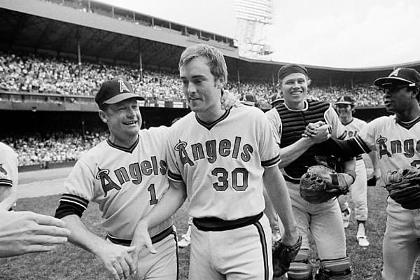 Before 41,411 in Detroit,California AngelsaceNolan Ryanhurls his secondno-hitterof the season in taming theDetroit Tigers, 6 – 0. Ryan fans 17 batters, the most ever in a 9-inning no-hitter, including eight straight, but only one over the last two innings. Nolan's arm stiffens while watching his team rally for five runs in the top of the 8th. With two outs in the 9th,Norm Cash, who struck out his three other times at bat, comes to bat wielding a piano leg. UmpireRon Lucianopoints out the illegality and Cash then pops out using a regulationbat. Ryan's eightstrikeoutsin a row ties theAmerican Leaguerecord he set last year.