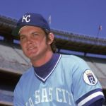 Steve Busby of the Kansas City Royals fires his second career no-hitter