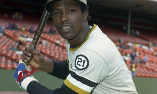 Rennie Stennett establishes a new modern day record for most hits in a nine-inning game