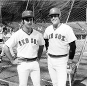 Carlton Fisk and Fred Lynn