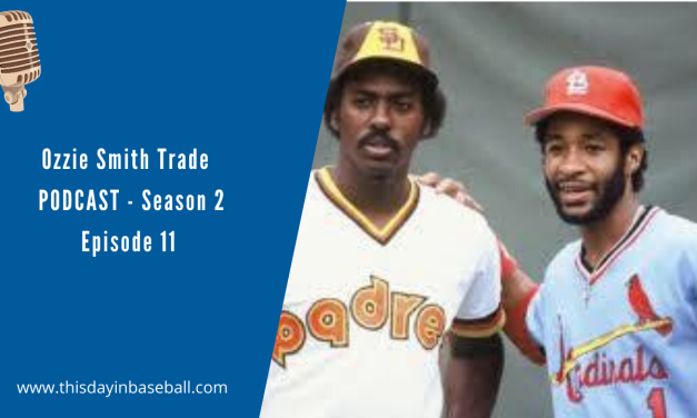 Ozzie Smith agrees to go to the Cardinals to complete the December deal that finally sends Gary Templeton to the Padres