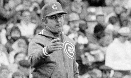 After a 7-2 loss to L.A. at Wrigley Field, Cubs manager Lee Elia launches into an obscenity-laced tirade, that will become a much-reported media story on the airwaves and in print for days to come.
