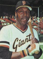 Willie McCovey makes his major league debut for the San Francisco Giants.