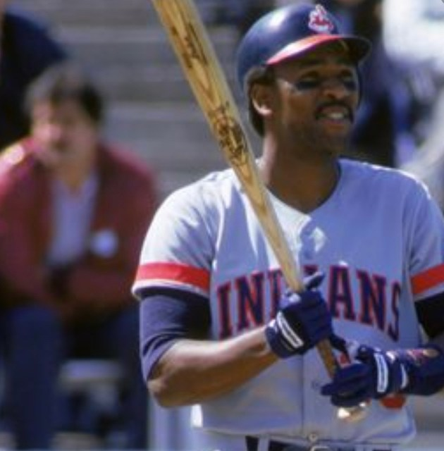 Cleveland's Joe Carter belts three home runs and singles twice as the Indians beat the Red Sox, 7 – 3, at Fenway Park.