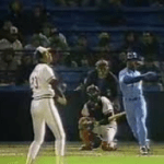 Bo Jackson Homers after Ump fails to grant timeout