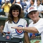 91-year-oldChicago Cubsfan Harry Grossman throws a switch lightingWrigley Fieldfor its first-evernight game. Heavy thuderstorms wipe out theCubs-Philliesgame after three innings. The first official night game will be recorded tomorrow night.