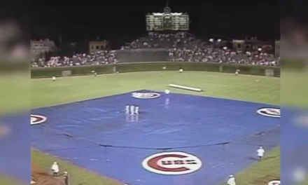 Wrigley Field's First Night Game rained out
