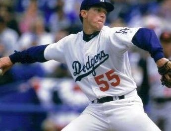 Scoreless Streak ends for Orel Hershiser
