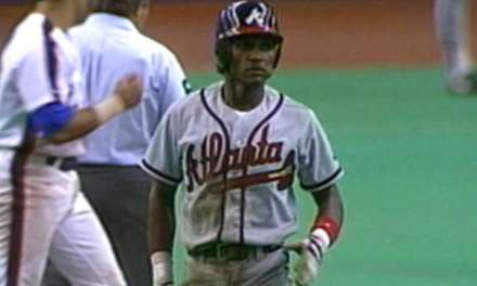 Otis Nixon sets a National League record and ties the major league mark by stealing six bases against the Montreal Expos