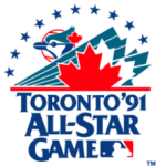 Cal Ripken Jr.'s three-run home run lifts the American League to a 4 - 2 win over the National League in the annual All-Star Game. Andre Dawson homers for the NLers who lose for the 4th straight year. Ripken, who also won the pre-All-Star Game Home Run Derby, is named the game's MVP. Tony LaRussa becomes the first manager with three straight All-Star victories.