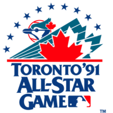 Cal Ripken Jr.'s three-run home run lifts theAmerican Leagueto a 4 – 2 win over theNational Leaguein the annualAll-Star Game.Andre Dawsonhomers for the NLers who lose for the 4th straight year. Ripken, who also won the pre-All-Star GameHome Run Derby, is named the game'sMVP.Tony LaRussabecomes the first manager with three straight All-Star victories.