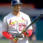 Mark Whiten of the St. Louis Cardinals ties a major league record by hitting 4 home runs and driving in 12 runs