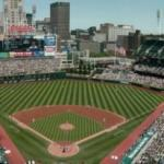 Cleveland Indians inaugurate Jacobs Field with a 4-3 victory