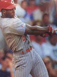 St. Louis Cardinals Ron Gant and Andy Benes