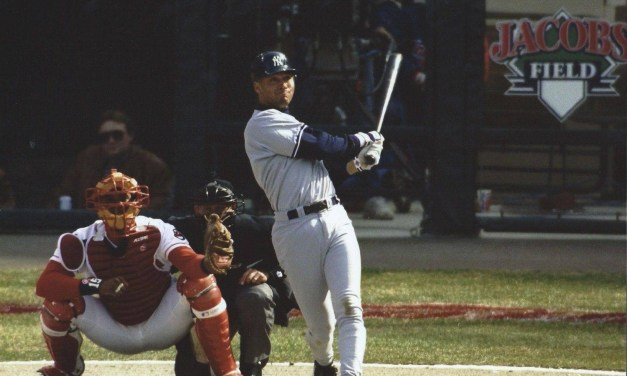 With an Opening Day 7-1 victory over the Indians at Jacobs Field, Joe Torre wins the first of his 1,173 victories as the manager of the Yankees and Derek Jeter hits his first homerun