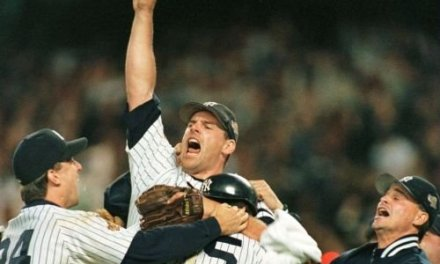 New York Yankees clinch their 23rd World Championship by defeating the Atlanta Braves, 3-2
