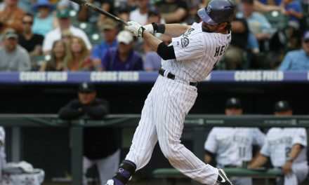 Todd Helton of the Colorado Rockies is named The Associated Press Player of the Year.