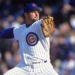 As a result of being struck by the flying barrel of a broken bat, the ulna bone in Mike Fyhrie's left arm is broken. The Cubs' righty reliever used his arm to protect himself when the Padres' Santiago Perez's broken bat exploded in the direction of the mound.