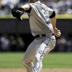 A.J. Burnett no hits Sand Diego Padres