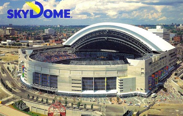 """SkyDomeis renamed the """"Rogers Centre"""""""