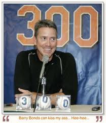 Mets left-hander Tom Glavine won his 300th career game