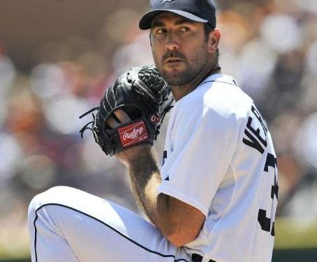 Justin Verlander fired a no-hitter against the Milwaukee Brewers at Comerica Park in Detroit