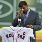 Jason Varitek, captain of the Boston Red Sox announces his retirement