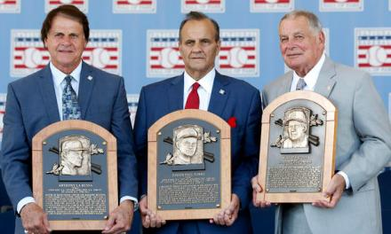The Modern Era Committee elects  Bobby Cox, Tony LaRussa and Joe Torre