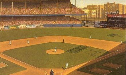 Ground is broken on Ebbets Field in Brooklyn