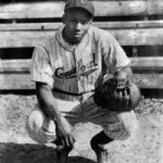 Negro Leagues legend Josh Gibson at the age of 35